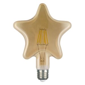 Diolamp Retro LED žiarovka Star Gold