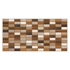 3D PVC obklad Mosaic Wood (960 x 480 mm - 0,46 m2)