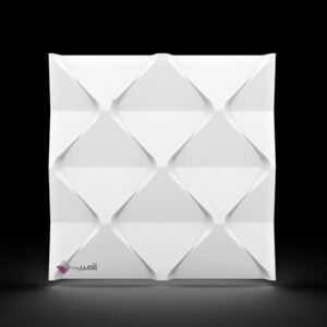 MyWall 3D EPS obklad Harmony - biely