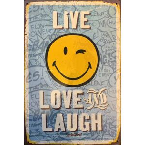 Ceduľa Live, Love and Laugh