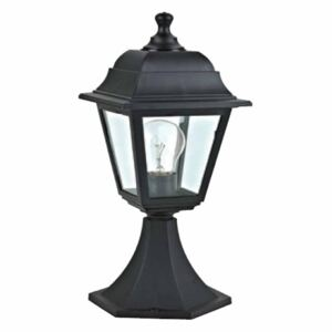 ACA DECOR Lantern Black IP44
