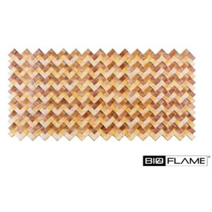 3D PVC obklad Brown Braid (950 x 470 mm - 0,44 m2)