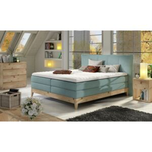 WRL Boxspring Forest massiv wood + topper