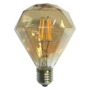 Diolamp LED Decorative E27 Gold retro LED žiarovka