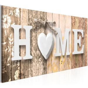 Obraz - Smell of Home (1 Part) Beige Wide 100x45