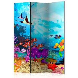 Paraván - Colourful Fish [Room Dividers] 135x172