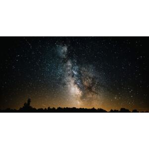 Details of Milky Way of St-Maria with yellow-dark graded, (128 x 85 cm)
