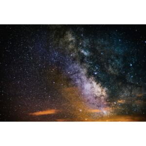 Details of Milky Way of St-Maria multicolour graded II, (128 x 85 cm)