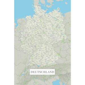 Germany color, (85 x 128 cm)
