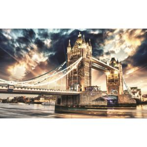 Fototapeta Tower Bridge vlies 104 x 70,5 cm