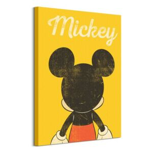 Obraz na plátne Disney Mickey Mouse Back Distressed 60x80cm WDC100409