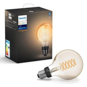 Philips Hue White Filament žiarovka E27 7W/550lm G93 Globe 2100K BlueTooth