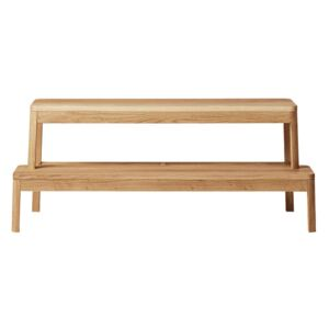 Million Lavica Arise Bench, natural oiled oak