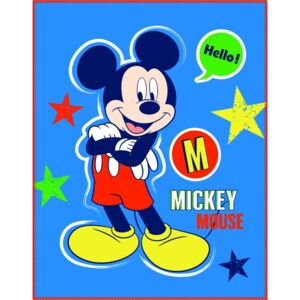 CTI Fleece dečka Mickey Expression 110x140 cm