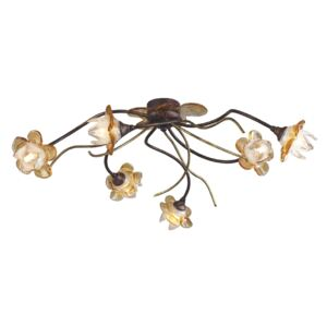 ACA DECOR Luster Flowers Amber 6xG9