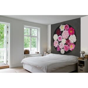 Vliesová tapeta Mr Perswall - Poésie rose 270 x 265 cm