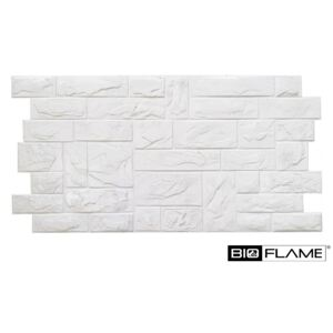 3D PVC obklad White Stone Panel (980 x 490 mm - 0,48 m2)