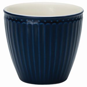Latte cup Alice dark blue