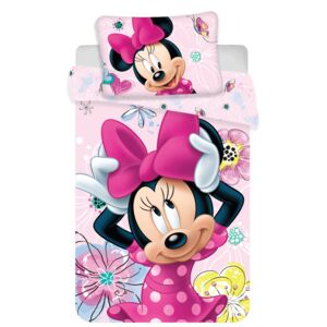 Jerry Fabrics Obliečka do postieľky Minnie