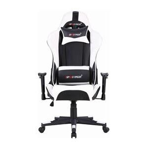 Racing chair SPEED RACER biely