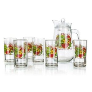 VETRO-PLUS Džbánový set WATERMELON, 7 ks 59GM2407D