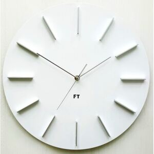 Future Time FT2010WH Round white 40cm