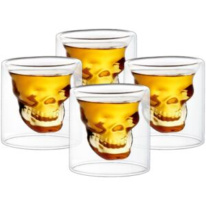 4home Poldecáky Skull Hot&Cool 20 ml, 4 ks