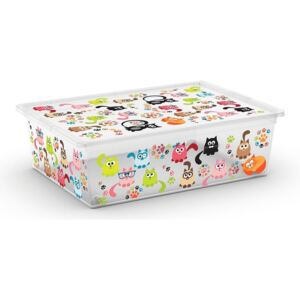 KIS C Box Style L, Cute Animals, 27l