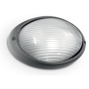 Nástenné svietidlo Ideal lux 061788 MIKE AP1 SMALL ANTRACITE 1xE27 25W