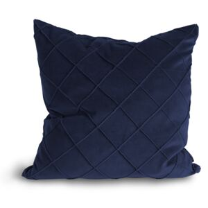 Lovely Linen Povlak na vankúš Velvet Cushion Royal blue 47x47