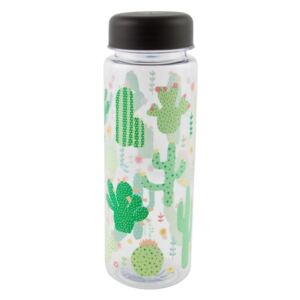 Fľaša na vodu Sass & Belle Colourful Cactus, 450 ml