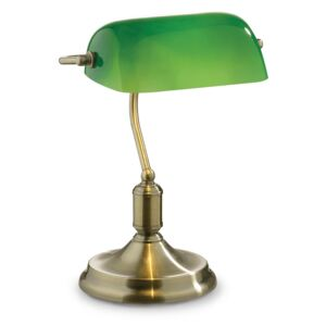 Stolová lampa Ideal lux 045030 LAWYER TL1 BRUNITO 1xE27 60W