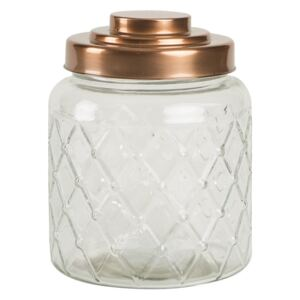 Sklenená dóza T&G Woodware Lattice, 2,6 l