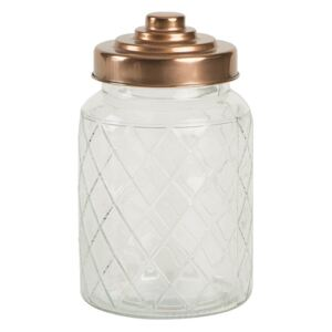 Sklenená dóza T&G Woodware Lattice, 950 ml