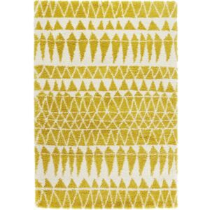 Žltý koberec Mint Rugs Allure Yellow, 80 × 150 cm