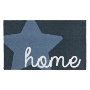 Modrá rohožka Zala Living Design Star Home Blue, 50 × 70 cm