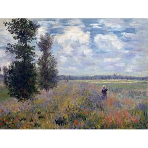 Reprodukcia obrazu Claude Monet - Poppy Fields near Argenteuil, 40 × 30 cm