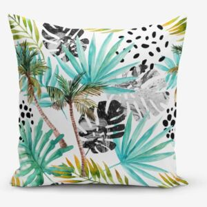 Obliečka na vankúš Minimalist Cushion Covers Palm Modern, 45 × 45 cm