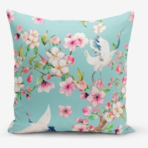 Obliečka na vankúš Minimalist Cushion Covers Wormwood Bird, 45 × 45 cm