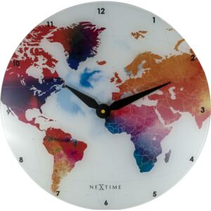 NeXtime Hodiny 8187 Colorful world