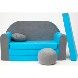 Ourbaby 1276 Sofa gray-blue