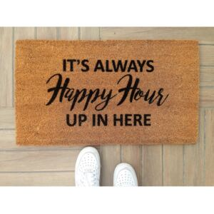 Rohožka Doormat Happy Hour, 70 × 40 cm