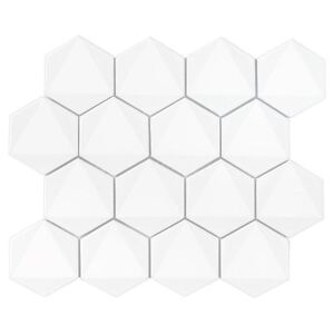 DUNIN -  HEXAGONIC White 74 (30 x 26cm/1ks)