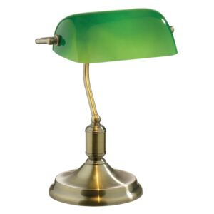 Stolová lampa Evergreen Lights Retro Verde
