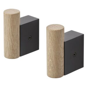 Muuto Vešiak Attach, black/oak
