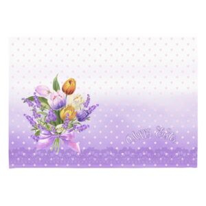 Sada 2 prestieraní Apolena Easter Puget Decorative, 33 × 45 cm