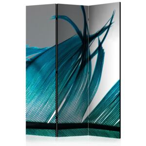 Artgeist Paraván - Turquoise Feather [Room Dividers]