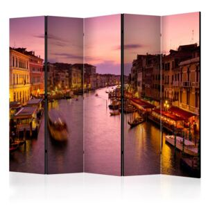 Paraván - City of lovers, Venice by night [Room Dividers] 225x172