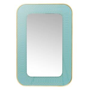 KARE DESIGN Zrkadlo Revival Light Blue 90 × 60 cm