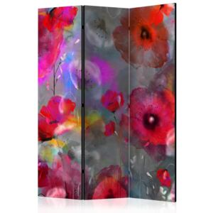 Paraván - Painted Poppies [Room Dividers] 135x172